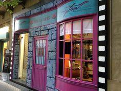 Mytea el Arte del té, reviste su fachada evocando la tetería de Madame Puddifot's en la película Harry Potter y la Orden del Fénix