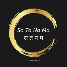 """In Kundalini yoga, (sometimes written as two words, """"sat nam"""") is the most widely used mantras. Chanting it during yoga practice is thought to awaken the soul and create a deeper, internal connection with the meaning of satnam. Sanskrit Quotes, Sanskrit Mantra, Sanskrit Words, Kundalini Mantra, Kundalini Yoga, Types Of Meditation, Mindfulness Meditation, Gurbani Quotes, Famous Quotes"""