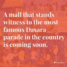 Are you all ready? #nammamysuru #MaharajaofMalls