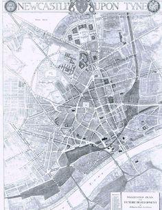 Newcastle map 1929