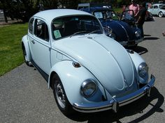 1969 VW Beetle. My first car in which my dad taught me to drive a stick. It was baby blue and I painted big eyes with eyelashes on the hood! Aaahh, those were the days.