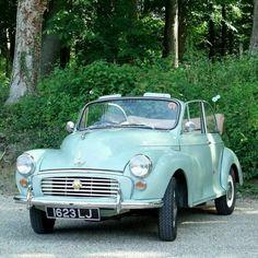 1961 Morris Minor Convertible.