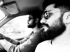 Let it grow! #beard #selfie #traveler #brothers