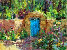 Art Talk - Julie Ford Oliver: Albuquerque Gate, N.M.