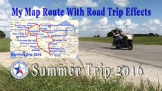 Summer Trip 2016 Route Animated Travel Maps