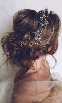 awesome Модные свадебные прически на средние волосы (50 фото) — С фатой или без?