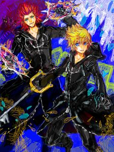 Roxas and Axel
