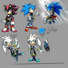 shadow,silver and sonic gerbendert girls
