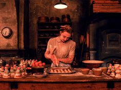 """Saoirse Ronan as """"Agatha"""" in Wes Anderson's THE GRAND BUDAPEST HOTEL"""