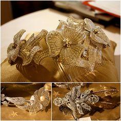 Amazing headpieces by Stephanie Browne