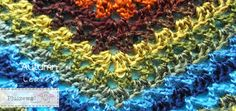 Autumn Leaves omslagdoek met gratis patroon gehaakt met #Fenna | Autumn Leaves shawl -  free pattern!
