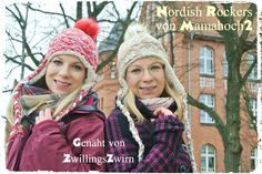 "Freebook Wintermütze ""Nordish Rockers"" - Mamahoch2"