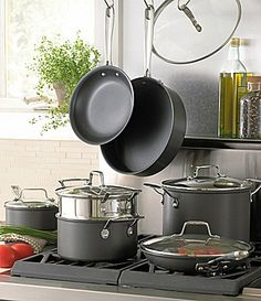 Emeril by All Clad 12Piece HardAnodized Cookware Set - Want!