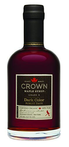 Flavors of popcorn, vanilla bean, roasted nuts, salted caramel and brown butter infuse the aroma of Crown Maple® Golden Color and Delicate Taste Syrup. Crown Maple Syrup, Maple Syrup Grades, Organic Maple Syrup, Roasted Nuts, Amber Color, Golden Color, Baking Ingredients, Dark Colors, Gourmet Recipes
