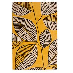 Heal's Discovers Woodland Sunflower Rug By MissPrint