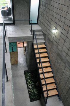 Narrow House Designs, Latest House Designs, Small House Design, Modern House Design, Minimalist House Design, Minimalist Architecture, Minimalist Home, Loft Interior Design, Home Room Design
