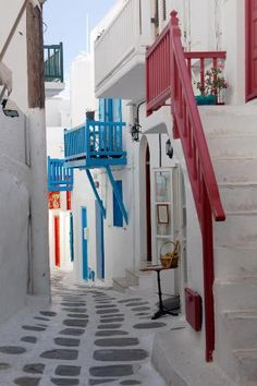 Village Path; Greece