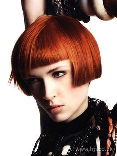2007 redhead bob hairstyle        Hairstyle by: Errol Douglas  Salon: Errol Douglas Salon  Location: Knightsbridge, Kingston #HJColour #hair