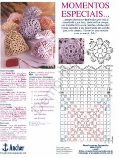 tons of free crochet patterns for lavender sachets (french site) includes charts Many sachet bags, crochet Great for party favors, fill with almonds for a wedding, etc. Bildergebnis für souvenirs to crochet wedding The place where construction meets des Crochet Diy, Crochet Sachet, Crochet Drawstring Bag, Crochet Pouch, Crochet Motifs, Crochet Diagram, Crochet Purses, Crochet Chart, Crochet Home