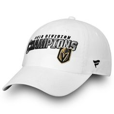 529a506f5a8 Adult Vegas Golden Knights 2018 Division Champions Adjustable Cap