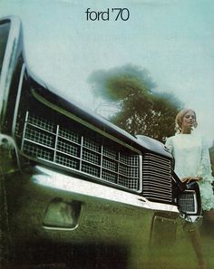 1970 Ford LTD Grille, from a car like my Grandmother Harrington drove me around in.