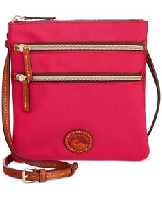 Dooney & Bourke North South Triple Zip Nylon Crossbody - Handbags & Accessories - Macy's