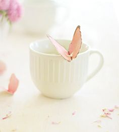 How to make a (Mother's Day) Butterfly Tea Bag Tag, such a sweet idea! Meditation Musik, Always Believe, Morning Quotes, Morning Images, Sunday Quotes, Night Quotes, Food For Thought, Beautiful Words, Beautiful Mind