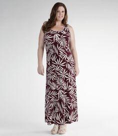 Karen Kane Printed Maxi Tank Dress