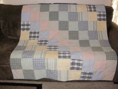 Memory Quilt Custom made for Kelli by sewcrazee on Etsy, $150.00