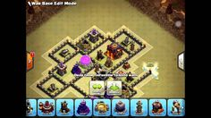 New Update War Base TH8 anti 3 star with Bomb tower