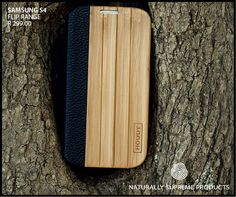 Samsung S4 Houdt Bamboo & Leather Flip Case #SamsungS4 #SamsungCovers #SamsungWoodenPhoneCovers  http://www.houdt.co.za/collections/samsung-s4/grooved-leather-bamboo-flip-case