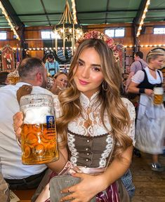 That's why you can find here, all the products I personally use every day.‼️ I love to inspire you girls ❤️ Hope you find something interesting Octoberfest Girls, Oktoberfest Beer, German Girls, German Women, Jessy James, Beer Maid, Beer Girl, John David, Beer Festival
