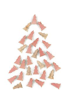 novelty pegs #typoshop #christmas #decoration #xmas #tree #diy #craft