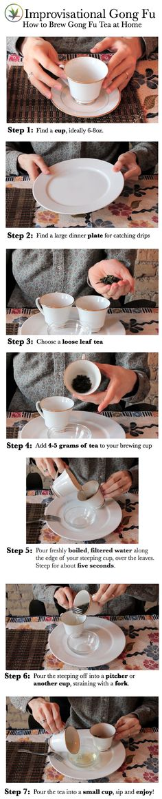 No Gaiwan?  No Problem!  Anyone can brew gong fu tea at home, with objects you probably already own.