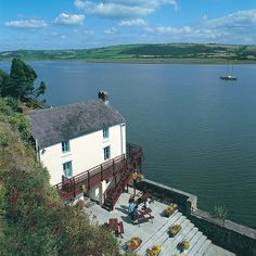 Dylan Thomas' Boathouse, Laugharne, Carmarthenshire, Wales