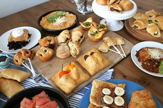 Can you believe all these delicious goodies were made with crescent rolls?