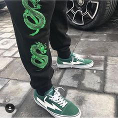 I found this realllly cool place to get unique jeans similar to these sweatpants