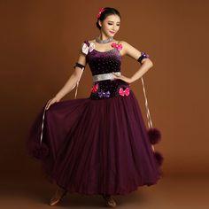 Ballroom Dancing, Ballroom Dress, Dance Outfits, Dance Dresses, Dance Wear, Waltz Dance, Modern Dance, Dress Skirt, Hand Sewn