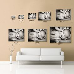 #art #newborn #canvas #display  Visualise how your art will look on your walls  www.catherinelaceyphotography.com