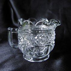 Gala Childs Glass Creamer Sugar Butter Set Higbee