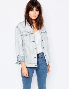 Veste boyfriend en jean Veste Boyfriend, Mode, Double Denim, Jeans,  Dernières Tendances 1509bf18c882