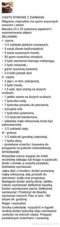 CIASTO DYNIOWE Z ZIARNAMI. Words, Horse