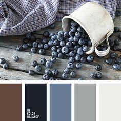 """""""пыльный"""" коричневый, """"пыльный"""" синий, бледно-джинсовый цвет, бордовый и светло-серый, джинсовый, оттенки серого, серебристый, серый, серый и шоколадный, синий, темно-синий, цвет голубики, цвет ягод голубики, шоколадный и синий."""