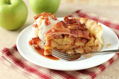 Replace your top crust with a crispy bacon weave to take your pie game to the next dimension.
