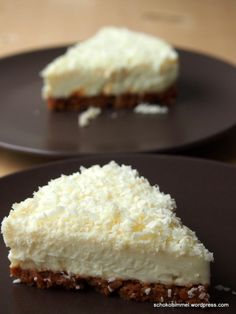 Sommer-Romanze: Ich back' mir... einen cremig-kühlen White Chocolate Cheesecake - Schokohimmel