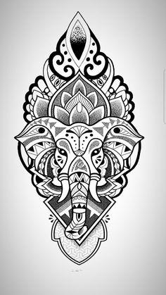 tattoo geometric animal ~ tattoo geometric ` tattoo geometric minimalist ` tattoo geometric men ` tattoo geometric flower ` tattoo geometric animal ` tattoo geometric lines ` tattoo geometric sleeve ` tattoo geométrica masculina Mandala Elephant Tattoo, Dotwork Tattoo Mandala, Ganesha Tattoo, Tattoo Henna, Elephant Tattoo Design, Mandala Tattoo Design, Elephant Tattoos, Tattoo Designs, Geometric Elephant Tattoo