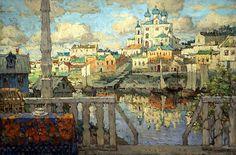 ГОРБАТОВ Константин - Псков. 1915. 900 Картин самых известных русских художников
