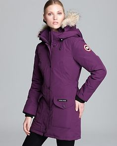 Canada Goose jackets sale official - Emma Stone. Canada Goose Kensington Parka | Brr It's Cold in Here ...