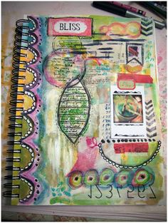 Bliss Journal Page by Roben-Marie Smith, via Flickr