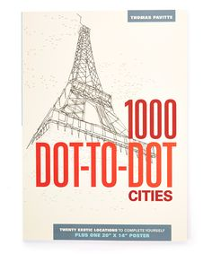 Look At This Zulilyfind 1000 Dot To Cities Paperback By Thunder
